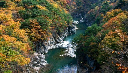 秋の観光で鬼怒川ライン下り体験はオススメ!紅葉が見頃で楽しい!