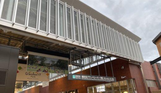 南町田グランベリーパークのアクセス!駅からの入口と電車,バス停,車